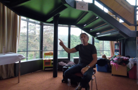Richard O'Neill Storytelling in Library