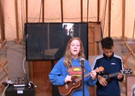12 year old Cousins play 'Riptide'